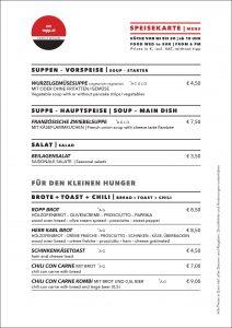 Speisekarte: Kleine Speisen | starters