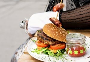 Wiener Austern Burger
